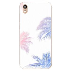 Silikonové odolné pouzdro iSaprio - Digital Palms 10 na mobil Honor 8S
