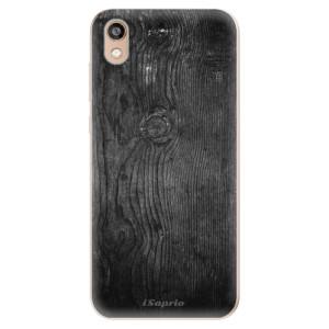 Silikonové odolné pouzdro iSaprio - Black Wood 13 na mobil Honor 8S