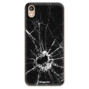 Silikonové odolné pouzdro iSaprio - Broken Glass 10 na mobil Honor 8S