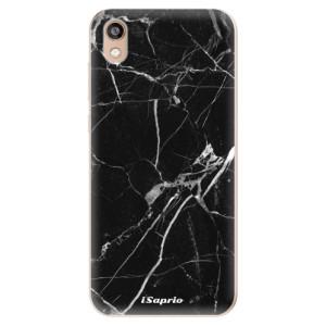 Silikonové odolné pouzdro iSaprio - Black Marble 18 na mobil Honor 8S