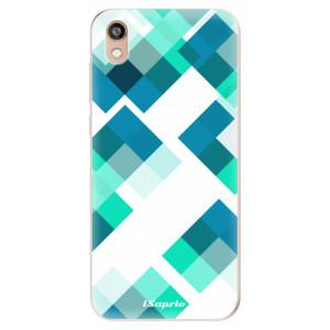 Silikonové odolné pouzdro iSaprio - Abstract Squares 11 na mobil Honor 8S