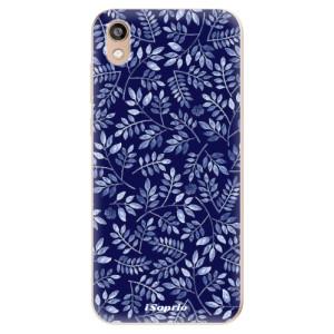 Silikonové odolné pouzdro iSaprio - Blue Leaves 05 na mobil Honor 8S