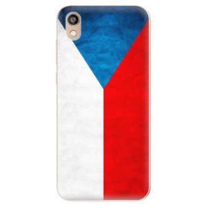 Silikonové odolné pouzdro iSaprio - Czech Flag na mobil Honor 8S