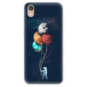 Silikonové odolné pouzdro iSaprio - Balloons 02 na mobil Honor 8S