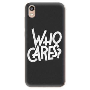 Silikonové odolné pouzdro iSaprio - Who Cares na mobil Honor 8S