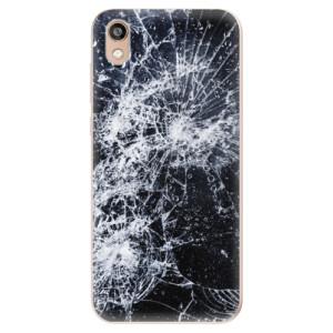 Silikonové odolné pouzdro iSaprio - Cracked na mobil Honor 8S