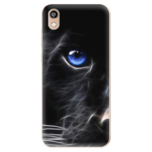 Silikonové odolné pouzdro iSaprio - Black Puma na mobil Honor 8S
