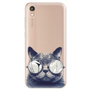 Silikonové odolné pouzdro iSaprio - Crazy Cat 01 na mobil Honor 8S