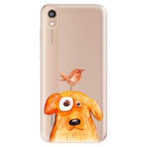 Silikonové odolné pouzdro iSaprio - Dog And Bird na mobil Honor 8S