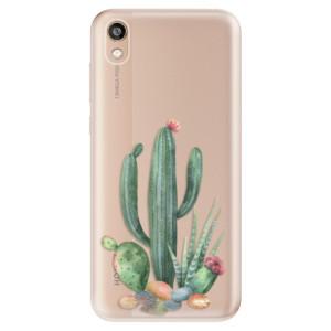 Silikonové odolné pouzdro iSaprio - Cacti 02 na mobil Honor 8S