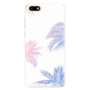Silikonové odolné pouzdro iSaprio - Digital Palms 10 na mobil Huawei Y5 2018