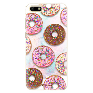Silikonové odolné pouzdro iSaprio - Donuts 11 na mobil Huawei Y5 2018