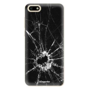 Silikonové odolné pouzdro iSaprio - Broken Glass 10 na mobil Huawei Y5 2018