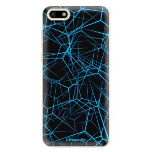 Silikonové odolné pouzdro iSaprio - Abstract Outlines 12 na mobil Huawei Y5 2018