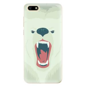 Silikonové odolné pouzdro iSaprio - Angry Bear na mobil Huawei Y5 2018