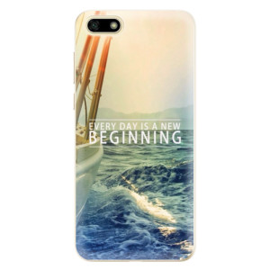 Silikonové odolné pouzdro iSaprio - Beginning na mobil Huawei Y5 2018