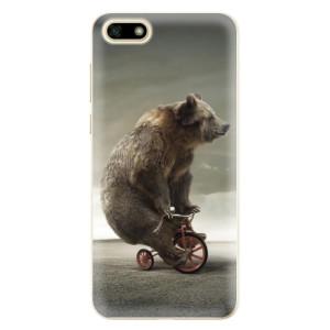 Silikonové odolné pouzdro iSaprio - Bear 01 na mobil Huawei Y5 2018