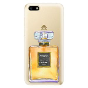 Silikonové odolné pouzdro iSaprio - Chanel Gold na mobil Huawei Y5 2018