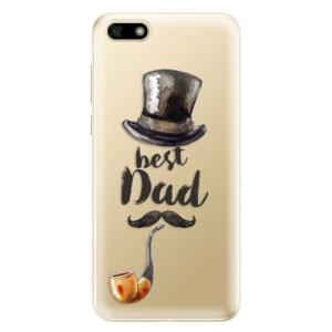 Silikonové odolné pouzdro iSaprio - Best Dad na mobil Huawei Y5 2018