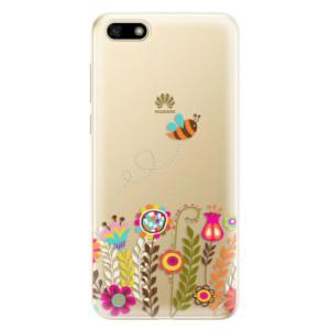 Silikonové odolné pouzdro iSaprio - Bee 01 na mobil Huawei Y5 2018