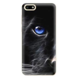 Silikonové odolné pouzdro iSaprio - Black Puma na mobil Huawei Y5 2018