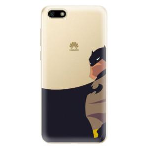 Silikonové odolné pouzdro iSaprio - BaT Comics na mobil Huawei Y5 2018