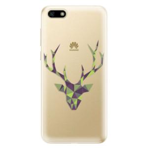 Silikonové odolné pouzdro iSaprio - Deer Green na mobil Huawei Y5 2018