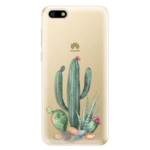Silikonové odolné pouzdro iSaprio - Cacti 02 na mobil Huawei Y5 2018