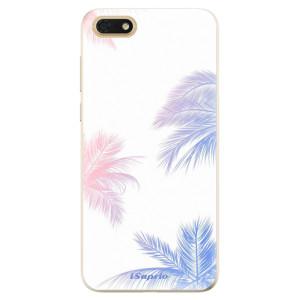 Silikonové odolné pouzdro iSaprio - Digital Palms 10 na mobil Honor 7S
