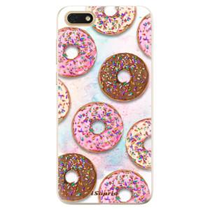 Silikonové odolné pouzdro iSaprio - Donuts 11 na mobil Honor 7S