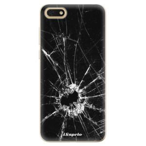 Silikonové odolné pouzdro iSaprio - Broken Glass 10 na mobil Honor 7S