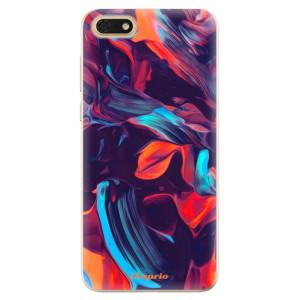 Silikonové odolné pouzdro iSaprio - Color Marble 19 na mobil Honor 7S