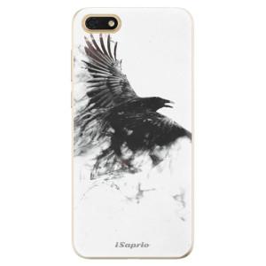 Silikonové odolné pouzdro iSaprio - Dark Bird 01 na mobil Honor 7S