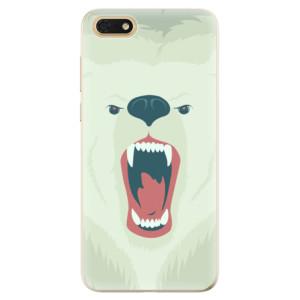 Silikonové odolné pouzdro iSaprio - Angry Bear na mobil Honor 7S
