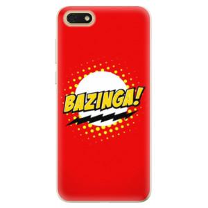 Silikonové odolné pouzdro iSaprio - Bazinga 01 na mobil Honor 7S