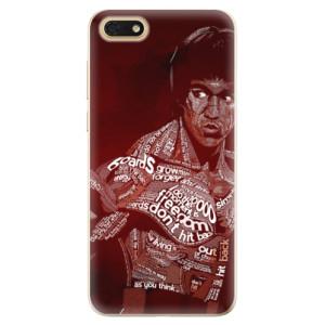 Silikonové odolné pouzdro iSaprio - Bruce Lee na mobil Honor 7S