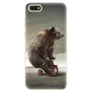 Silikonové odolné pouzdro iSaprio - Bear 01 na mobil Honor 7S