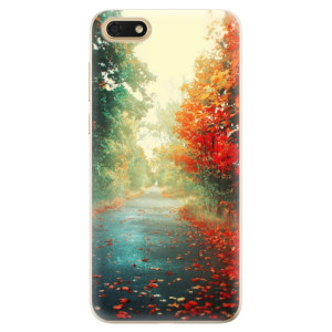 Silikonové odolné pouzdro iSaprio - Autumn 03 na mobil Honor 7S