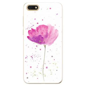 Silikonové odolné pouzdro iSaprio - Poppies na mobil Honor 7S