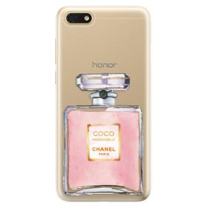 Silikonové odolné pouzdro iSaprio - Chanel Rose na mobil Honor 7S