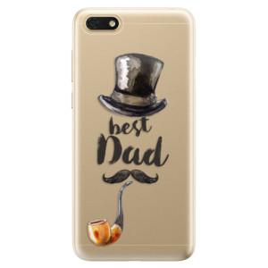 Silikonové odolné pouzdro iSaprio - Best Dad na mobil Honor 7S