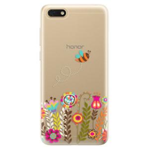 Silikonové odolné pouzdro iSaprio - Bee 01 na mobil Honor 7S