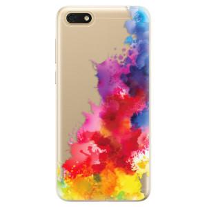 Silikonové odolné pouzdro iSaprio - Color Splash 01 na mobil Honor 7S