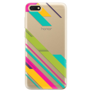 Silikonové odolné pouzdro iSaprio - Color Stripes 03 na mobil Honor 7S