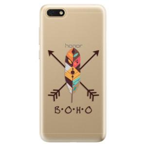Silikonové odolné pouzdro iSaprio - BOHO na mobil Honor 7S