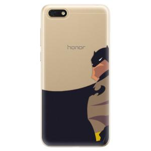 Silikonové odolné pouzdro iSaprio - BaT Comics na mobil Honor 7S