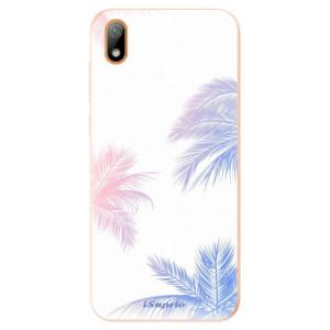 Silikonové odolné pouzdro iSaprio - Digital Palms 10 na mobil Huawei Y5 2019