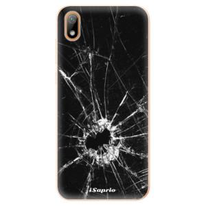 Silikonové odolné pouzdro iSaprio - Broken Glass 10 na mobil Huawei Y5 2019