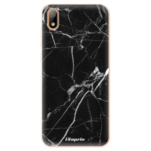 Silikonové odolné pouzdro iSaprio - Black Marble 18 na mobil Huawei Y5 2019