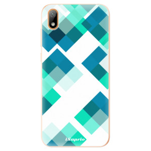 Silikonové odolné pouzdro iSaprio - Abstract Squares 11 na mobil Huawei Y5 2019